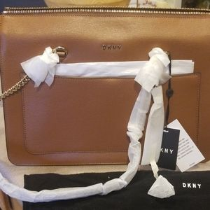DKNY shoulder bag 13 inches across about 10/in hei